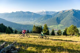 Mountainbike in South Tyrol
